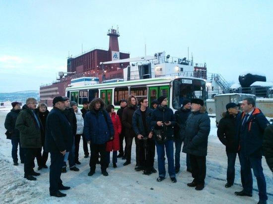 Мурманские журналисты и общественники побывали на первой в мире плавучей АЭС
