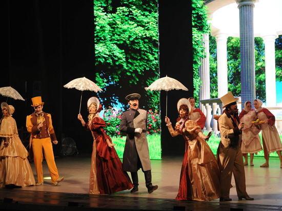 ВВолгоградской области совместно совсей Россией официально открыли Год театра