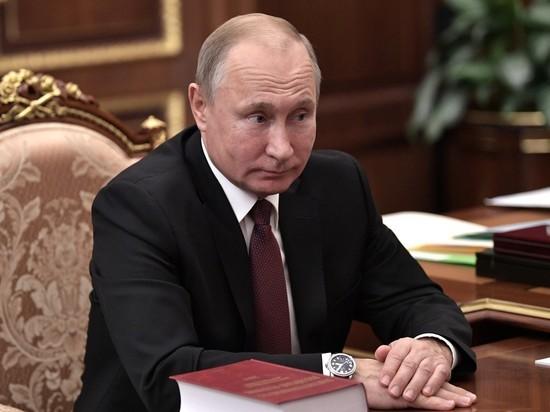У Путина попросили свидание