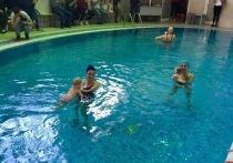 В Ульяновске впервые проведен фестиваль грудничкового плавания