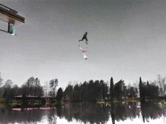 Человек, бегущий по небу: в Сети обсуждают новую иллюзию