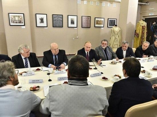 На встрече Путина с театральными деятелями обсудили «Дело Седьмой студии»