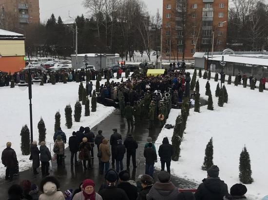 В Серпухове открыли бронзовый бюст герою Социалистического труда Николаю Калинину
