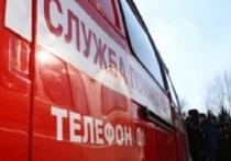 В Гаврилов-Ямском районе ночью сгорел автомобильный прицеп
