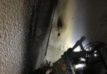 В Рыбинске ночью тушили балкон в жилой квартире