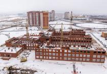 Стала известна дата окончания строительства школы на 65 лет Победы в Калуге