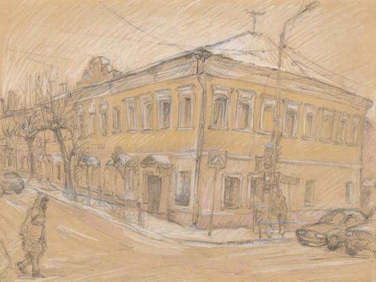 Какой дом Серпухова попал на страницы произведения Чехова