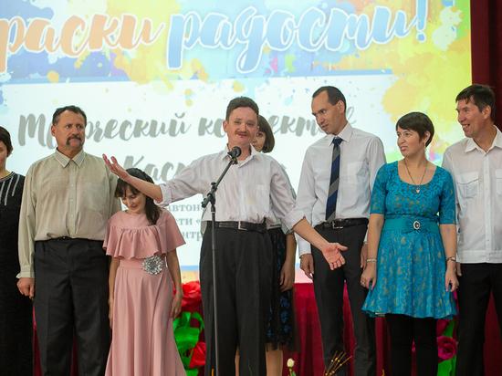В Астрахани состоялся IV областной инклюзивный фестиваль «Краски радости»