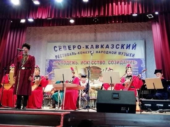 Калмыцкие музыканты – на фестивале народников