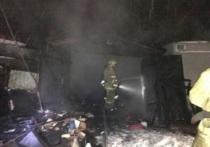 В Рыбинске разбираются в причинах пожара уничтожившего частный гараж