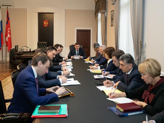 Андрей Бочаров потребовал финотчетов по приоритетным проектам