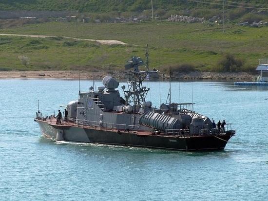 Единственный украинский ракетный катер лишился своих ракет