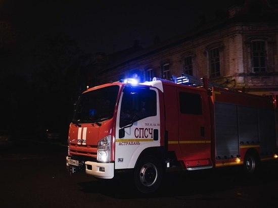 В Астраханской области сгорела бабушка и рабочий