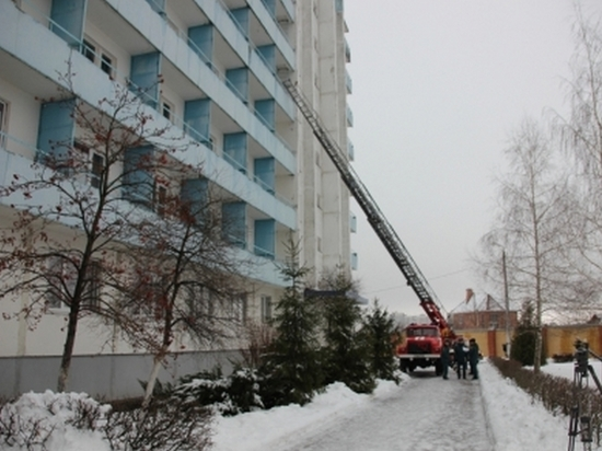 """В Курске госпиталь для ветеранов """"потушили"""" за 40 минут"""