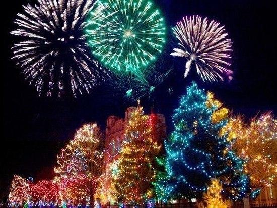 В Тамбовской области назвали места для запуска новогодних фейерверков