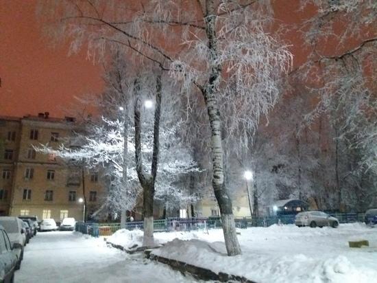 Сегодня днем в Смоленской области до минус 13 мороза