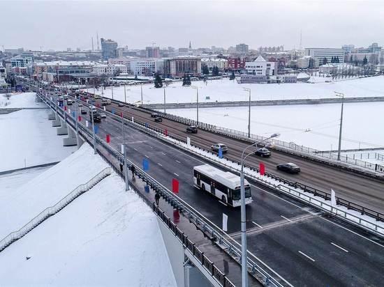 В Чебоксарах запущено движение по Московскому мосту