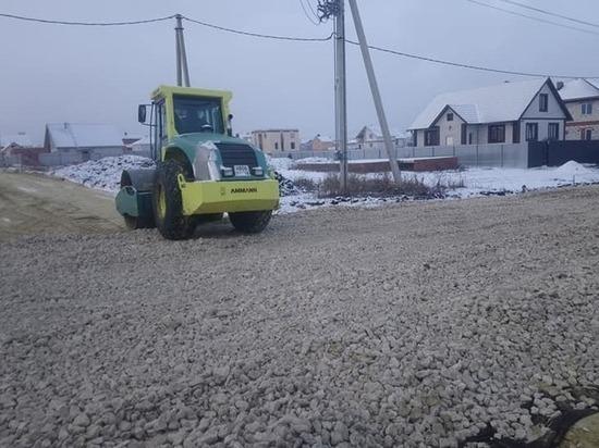 В Тамбове в Майском строительство 7,5 км дорог начнётся в апреле 2019 года