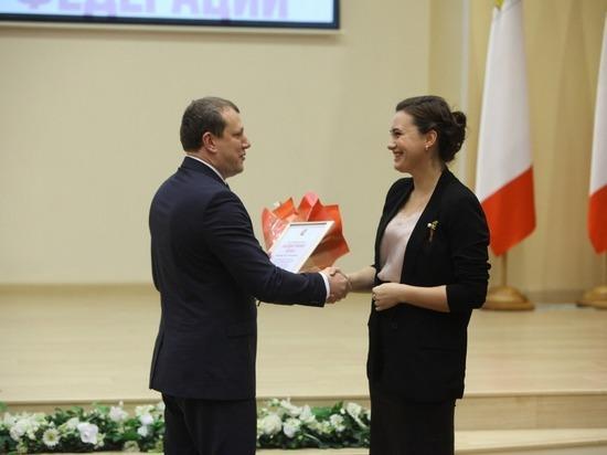 Лучших в своей профессии наградили в Правительстве Вологодской области