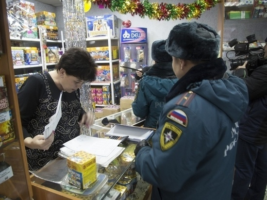 В Туве пока не обнаружено ни одного нарушения, связанного с продажей пиротехники