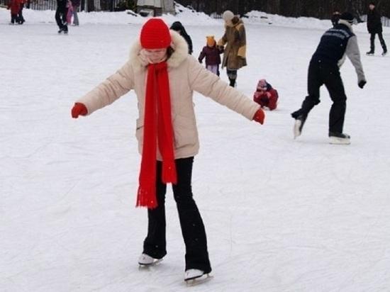 В Тамбовской области открыли сезон массового катания на коньках