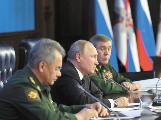 """Путин сообщил о """"прорыве"""" в развитии новейшего российского оружия"""