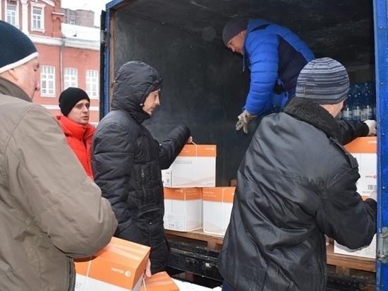 """Экипажу субмарины """"Липецк"""" отправили 11 кг сала в Новому году"""