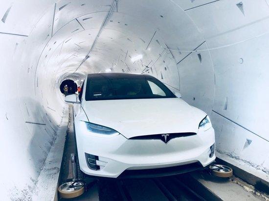 Открыт тоннель под Лос-Анджелесом: чем уникален проект Илона Маска