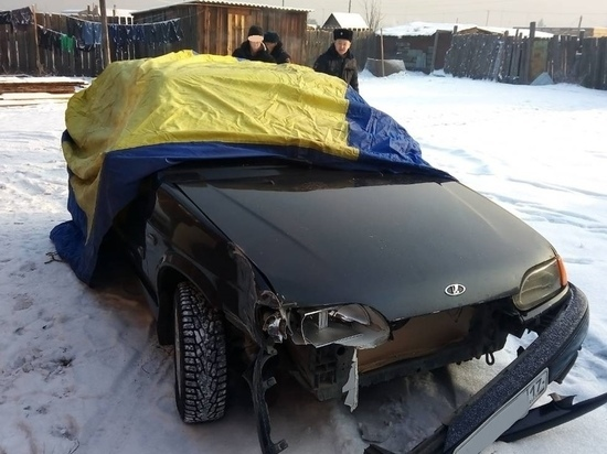 Водитель, насмерть сбивший женщину на левобережных дачах  Кызыла, найден