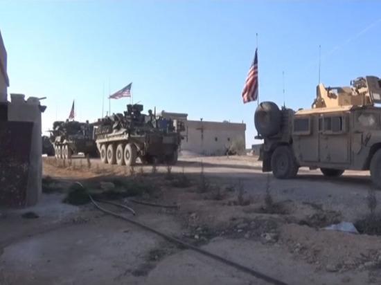 США выход из Сирии