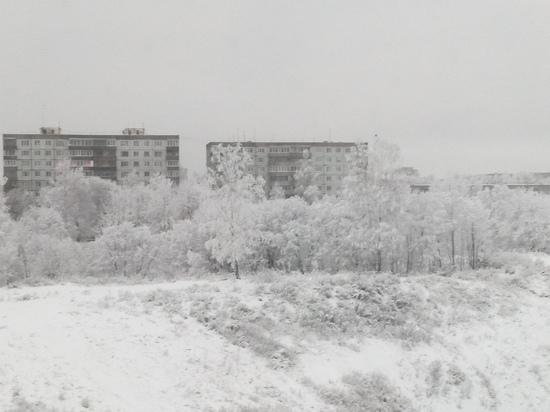 В Смоленской области до минус 13 мороза, гололедица
