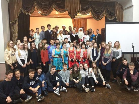 В Новый год – с иностранными студентами ВятГУ