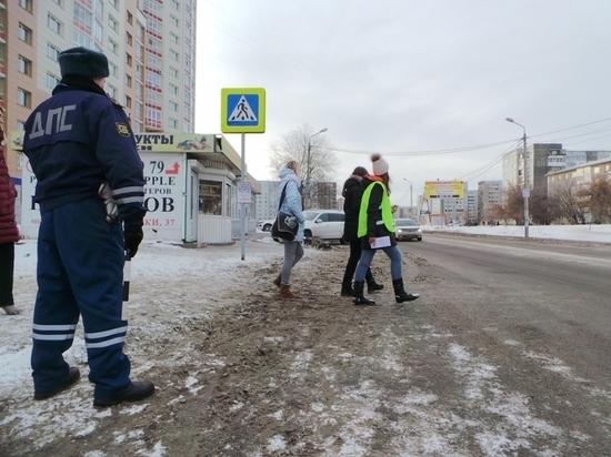 В Тамбовской области пройдут рейды ГИБДД на пешеходных переходах