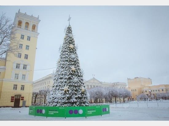 21 декабря в Смоленске на площади Ленина откроется городская елка