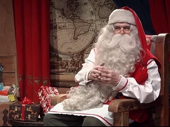 Дед мороз и его большой хуй