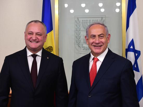 Биньямин Нетаниягу встретился с президентом Республики Молдова Игорем Додоном