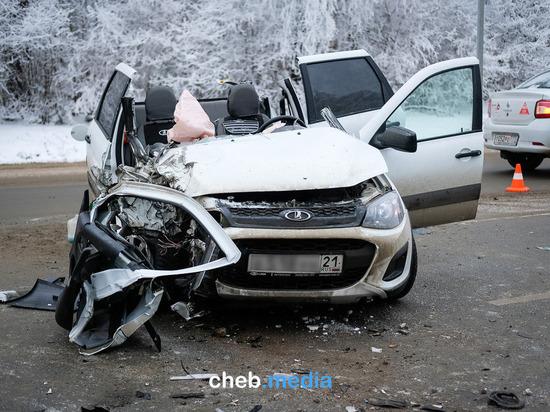 Пассажирка «Калины» погибла в ДТП с Kia в Чебоксарах