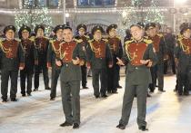 Форменный переполох в медийном пространстве вызвали съемки на Красной площади Ансамбля песни и пляски Национальной гвардии РФ