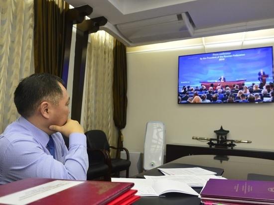 Кара-оол о пресс-конференции Путина: наш лидер чувствует Туву