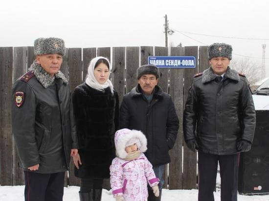 В микрорайоне «Спутник» города Кызыла появилась улица Чаяна Сенди-оола