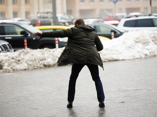 Томские ученые научат людей правильно ходить по скользким улицам