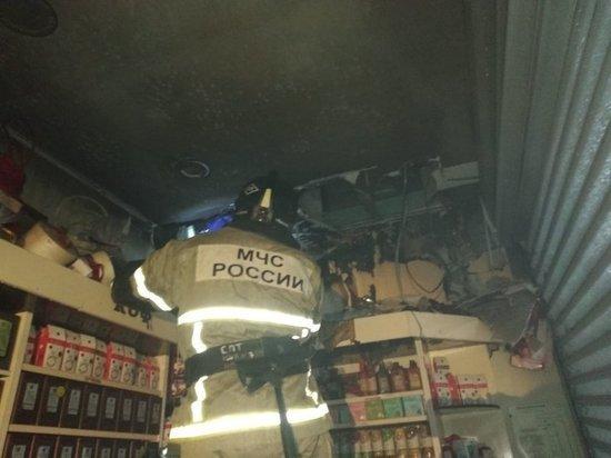 В «Модном квартале» в Иркутске горел павильон с чаем