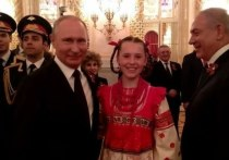 Песня для Путина: