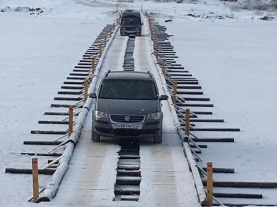 В Чувашии заработала ледовая переправа через Суру