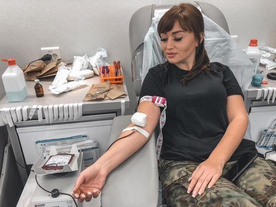 Более 220 росгвардейцев КБР стали участниками донорской акции