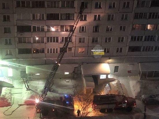 Новосибирец погиб при пожаре в жилом доме