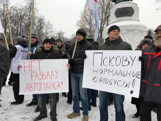 Работники «Псковпассажиравтотранса» потребовали от Силуанова обеспечить указы президента РФ
