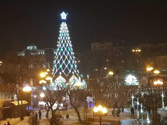 В открытии елки в сквере Кирова приняли участие более 5 тыс. иркутян