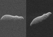На расстоянии менее трёх миллионов километров от нашей планеты пролетел астероид под названием 2003 SD220, который привлёк внимание астрофизиков и даже далёких от науки людей, в том числе, своей необычной формой