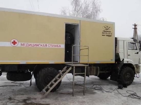 В Мордовском районе больница получила передвижной комплекс за 17 млн рублей
